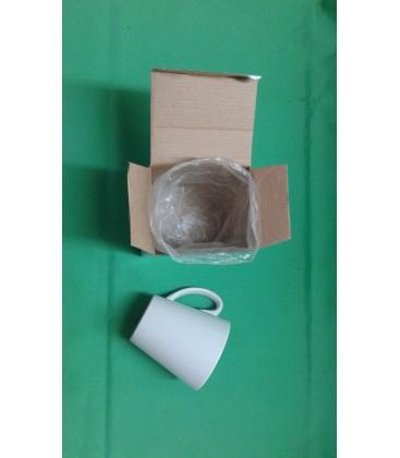 Taza C 11Oz Conica blanca con caja