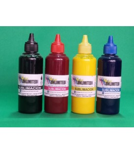 Tinta Sublimar Kit 60 ml CMYK